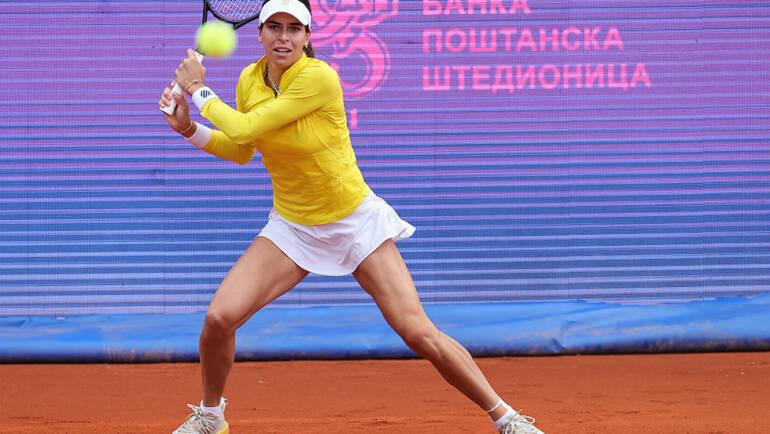 Ajla Tomljanović obezbedila plasman u osminu finala Serbia Ladies Opena