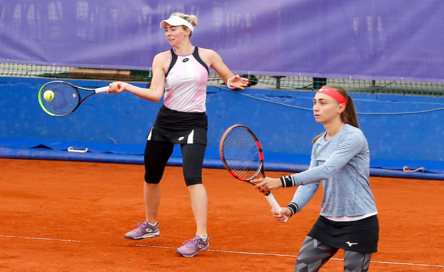 Krunić and Stojanović in the doubles semi-finals