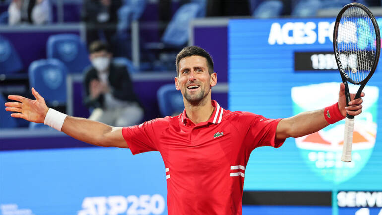 Novak Đoković to play on the next ATP tournament in Belgrade