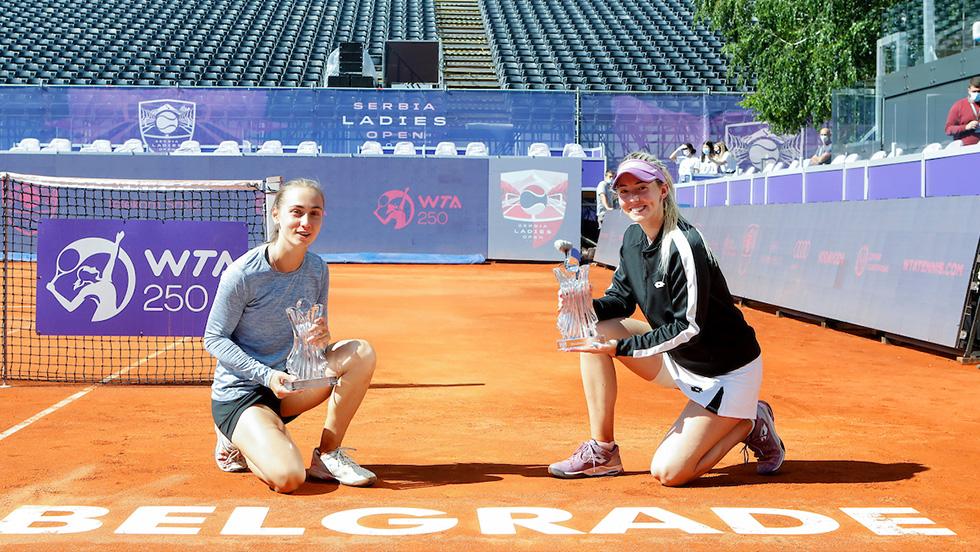 Stojanović and Krunić win Serbia Ladies Open
