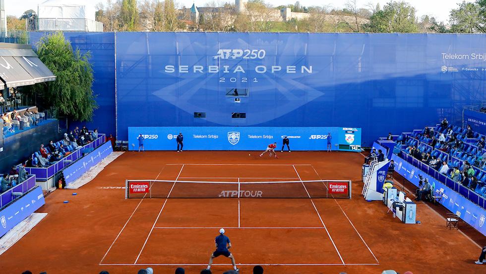 Teniserke stižu na Dorćol