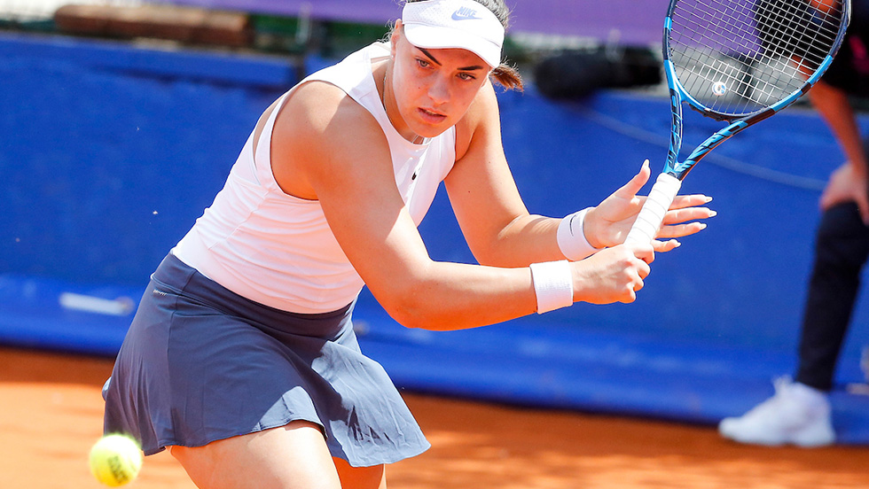 Konjuh: I'm growing with each match