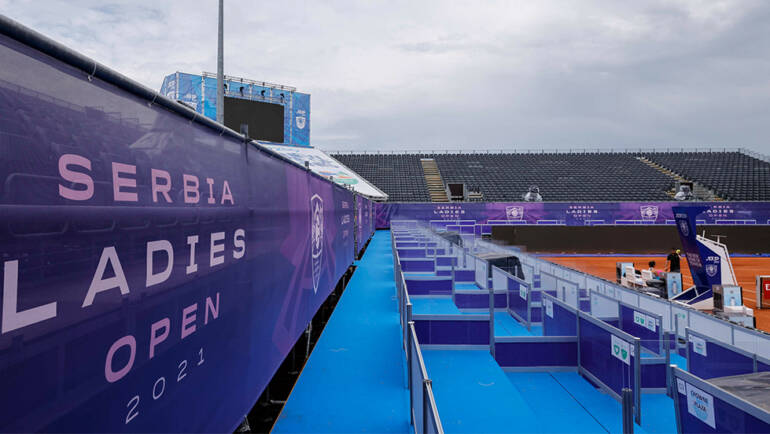 WTA more demanding for organizing, more liberal protocol for ATP