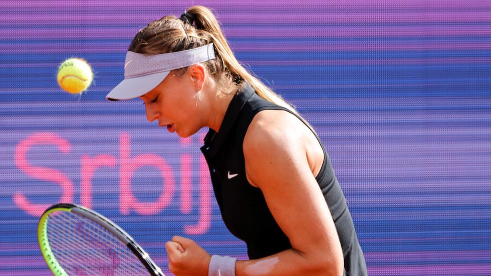 Paula Badosa beats Andrea Petković