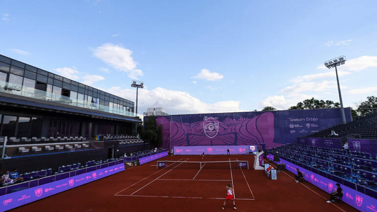 Two singles and one doubles match for Serbian tennis players